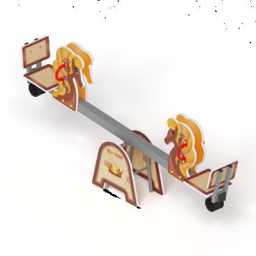 Купить Качалка балансир Лошадка ИО 21.М.01.02-01 по оптимальной цене с доставкой по России