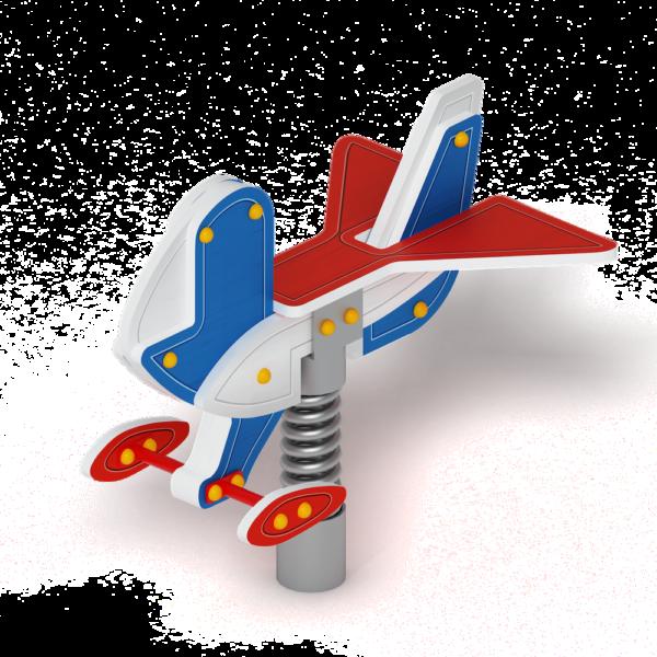 Купить Качалку на пружине Самолетик с доставкой по России