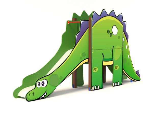 Горка Динозавр H-1200 ИО 41.27.01 купить в интернет-магазине aguna.pro