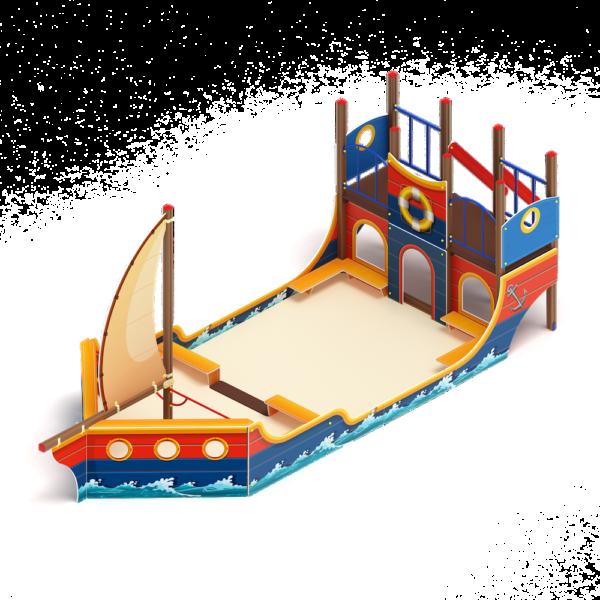 Купить Песочный дворик Яхта ИО 6.03.01 по оптимальной цене