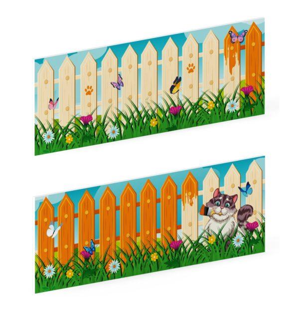 Ограждение Счастливое детство МФ 90.01.01 купить в интернет магазине aguna.pro с доставкой