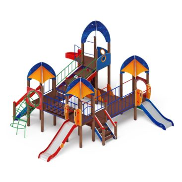 Детский игровой комплекс «Космопорт» ДИК 2.14.02 купить по оптимальной цене производителя в интернет-магазине aguna.pro с доставкой по России
