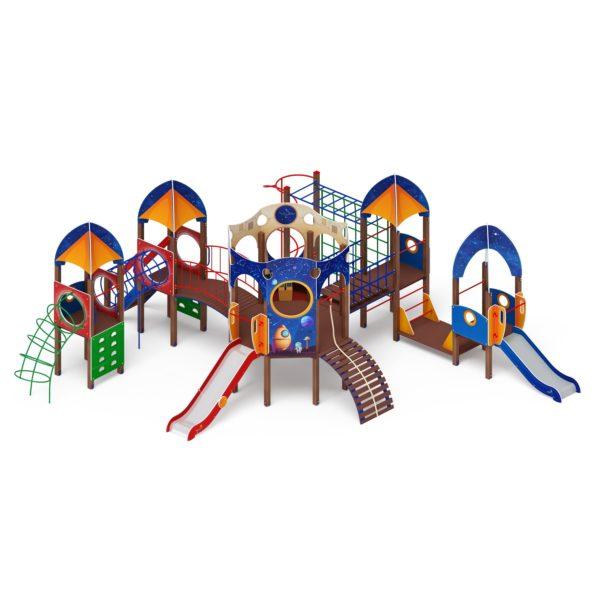 Детский игровой комплекс «Космопорт» ДИК 2.14.03 купить по оптимальной цене производителя в интернет-магазине aguna.pro с доставкой по России