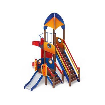 Детский игровой комплекс «Космопорт» ДИК 2.14.04 купить по оптимальной цене производителя в интернет-магазине aguna.pro с доставкой по России