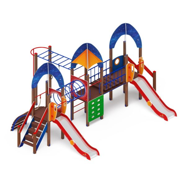 Детский игровой комплекс «Космопорт» ДИК 2.14.05 купить по оптимальной цене производителя в интернет-магазине aguna.pro с доставкой по России