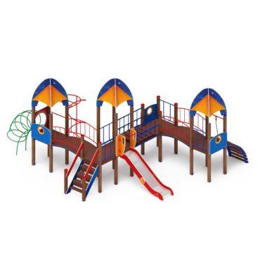 Детский игровой комплекс «Космопорт» ДИК 2.14.07 купить по оптимальной цене производителя в интернет-магазине aguna.pro с доставкой по России