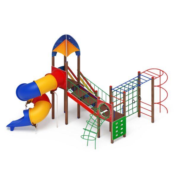 Детский игровой комплекс «Космопорт» ДИК 2.14.09 купить по оптимальной цене производителя в интернет-магазине aguna.pro с доставкой по России