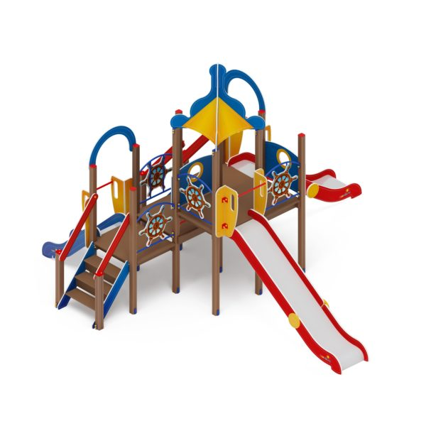 Детский игровой комплекс «Карандаши» ДИК 2.17.04 купить по оптимальной цене производителя СкифПро на aguna.pro с доставкой по России