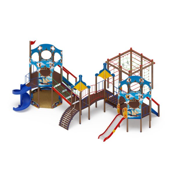 Детский игровой комплекс «Карандаши» ДИК 2.17.06 купить по оптимальной цене производителя СкифПро на aguna.pro с доставкой по России