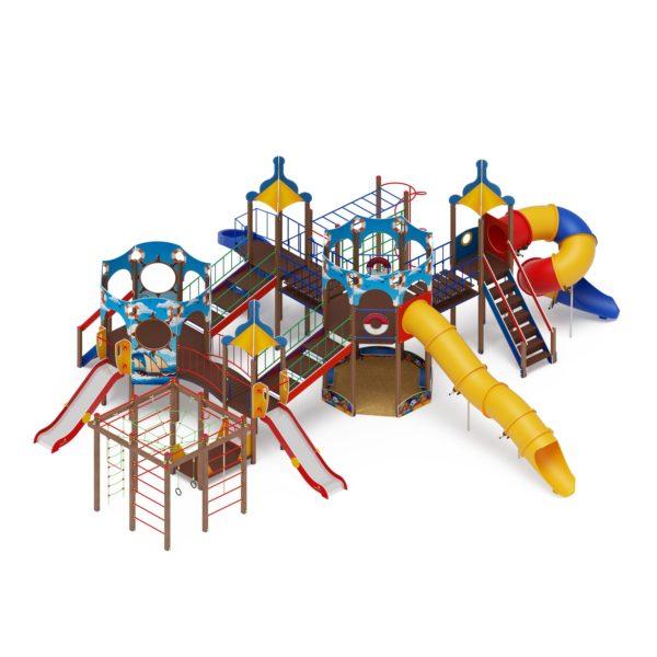Детский игровой комплекс «Карандаши» ДИК 2.17.07 купить по оптимальной цене производителя СкифПро на aguna.pro с доставкой по России
