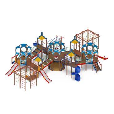 Детский игровой комплекс «Карандаши» ДИК 2.17.08 купить по оптимальной цене производителя СкифПро на aguna.pro с доставкой по России