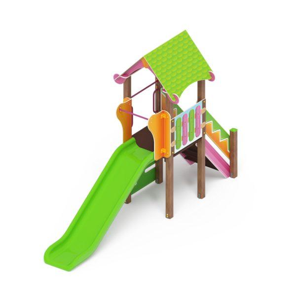 Детский игровой комплекс «Карандаши» ДИК 2.25.01 Н=1200 купить по оптимальной цене производителя СкифПро на aguna.pro с доставкой по России