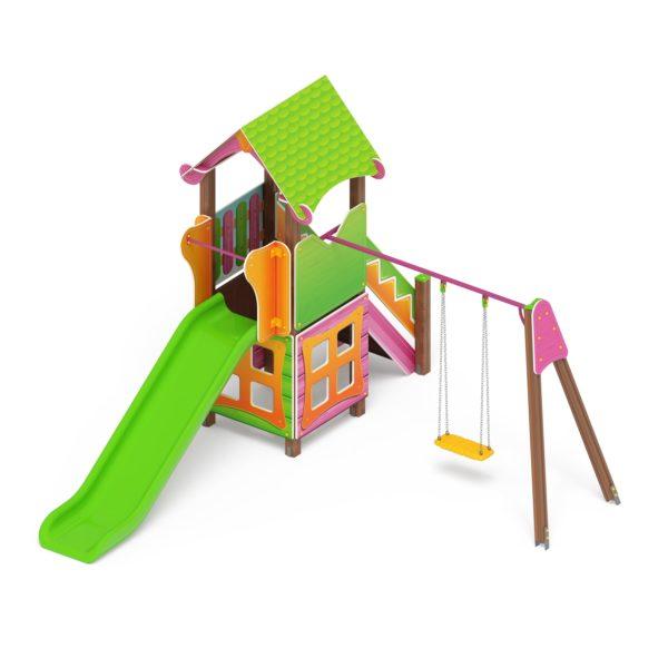 Детский игровой комплекс «Карандаши» ДИК 2.25.02 купить по оптимальной цене производителя СкифПро на aguna.pro с доставкой по России