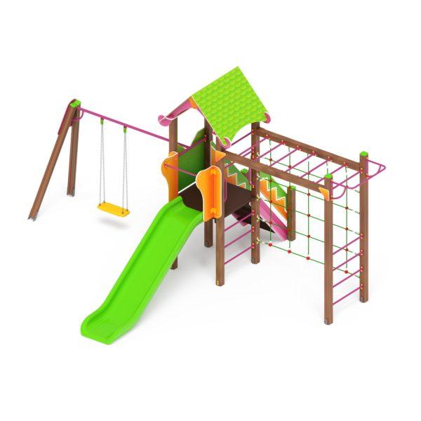Детский игровой комплекс «Карандаши» ДИК 2.25.03 купить по оптимальной цене производителя СкифПро на aguna.pro с доставкой по России