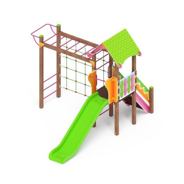 Детский игровой комплекс «Карандаши» ДИК 2.25.04 купить по оптимальной цене производителя СкифПро на aguna.pro с доставкой по России
