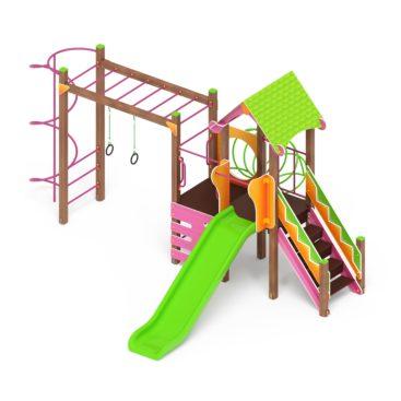 Детский игровой комплекс «Карандаши» ДИК 2.25.05 купить по оптимальной цене производителя СкифПро на aguna.pro с доставкой по России