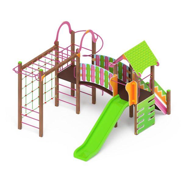 Детский игровой комплекс «Карандаши» ДИК 2.25.06 купить по оптимальной цене производителя СкифПро на aguna.pro с доставкой по России