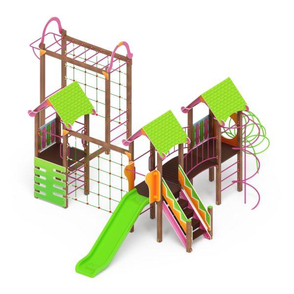 Детский игровой комплекс «Карандаши» ДИК 2.25.07 купить по оптимальной цене производителя СкифПро на aguna.pro с доставкой по России