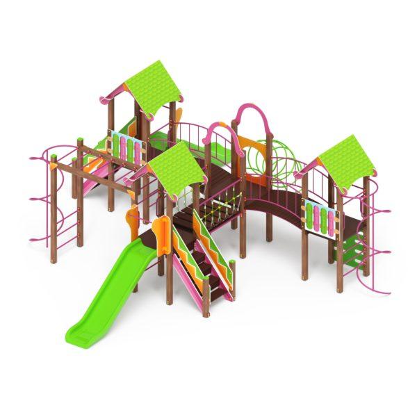Детский игровой комплекс «Карандаши» ДИК 2.25.08 купить по оптимальной цене производителя СкифПро на aguna.pro с доставкой по России