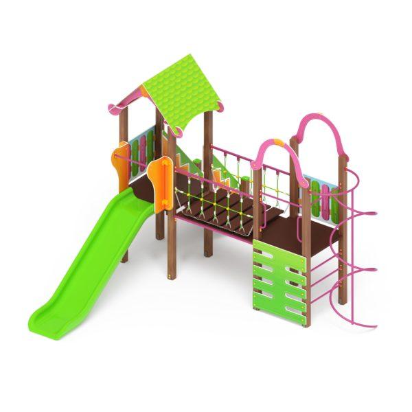 Детский игровой комплекс «Карандаши» ДИК 2.25.10 купить по оптимальной цене производителя СкифПро на aguna.pro с доставкой по России