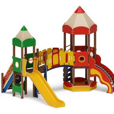 Детский игровой комплекс «Карандаши» ДИК 2.26.02 Н=1200 купить по оптимальной цене производителя СкифПро на aguna.pro с доставкой по России