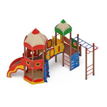 Детский игровой комплекс «Карандаши» ДИК 2.26.03 Н=1200 купить по оптимальной цене производителя СкифПро на aguna.pro с доставкой по России