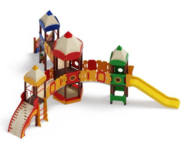 Детский игровой комплекс «Карандаши» ДИК 2.26.04 Н=1200 купить по оптимальной цене производителя СкифПро на aguna.pro с доставкой по России
