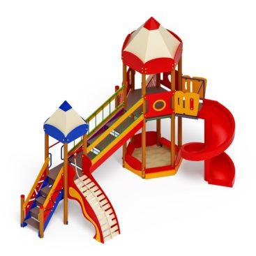 Детский игровой комплекс «Карандаши» ДИК 2.26.05 Н=2000 купить по оптимальной цене производителя СкифПро на aguna.pro с доставкой по России