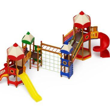 Детский игровой комплекс «Карандаши» ДИК 2.26.06 купить по оптимальной цене производителя СкифПро на aguna.pro с доставкой по России