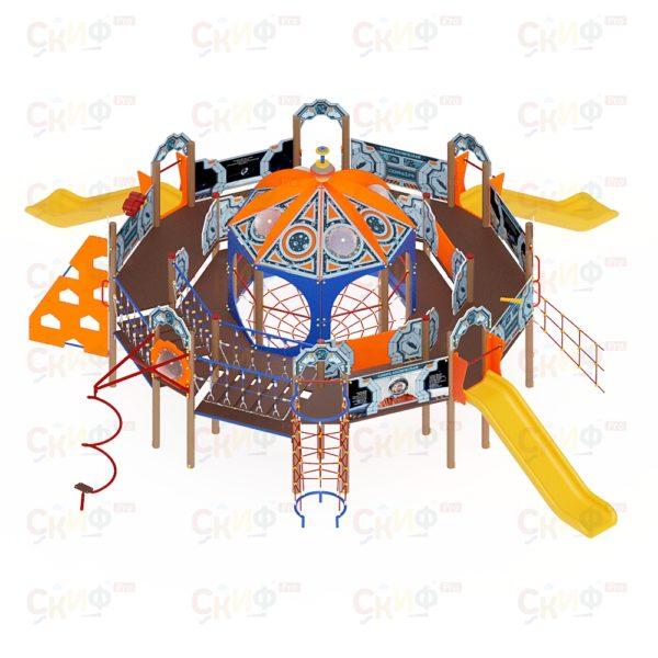 Купить Детский игровой комплекс «Россия Космическая» по цене производителя СкифПро