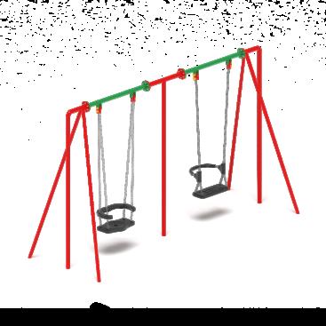 Качели М2 ИО 12.М.02.02.01 купить по оптимальной цене производителя с доставкой по России