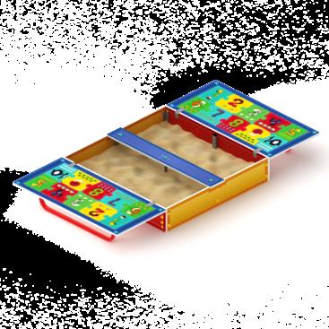 Песочница с крышкой Арифметика купить по оптимальной цене в интернет магазине aguna.pro