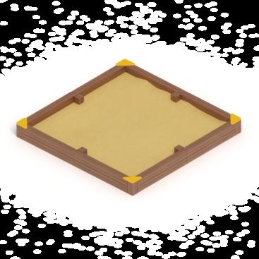 Песочница ИО 5.01.13 купить по цене производителя с доставкой на agune.pro