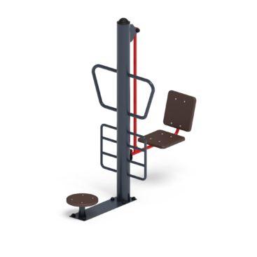 Купить Тренажер уличный «Жим ногами + твистер СТ 022» по цене производителя с доставкой по России