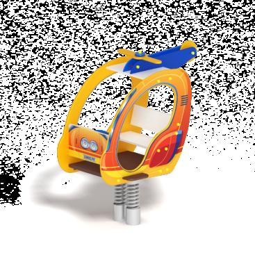 Качалка на пружине Вертолётик ИО 23.03.04 купить по оптимальной цене на aguna.pro с доставкой по России