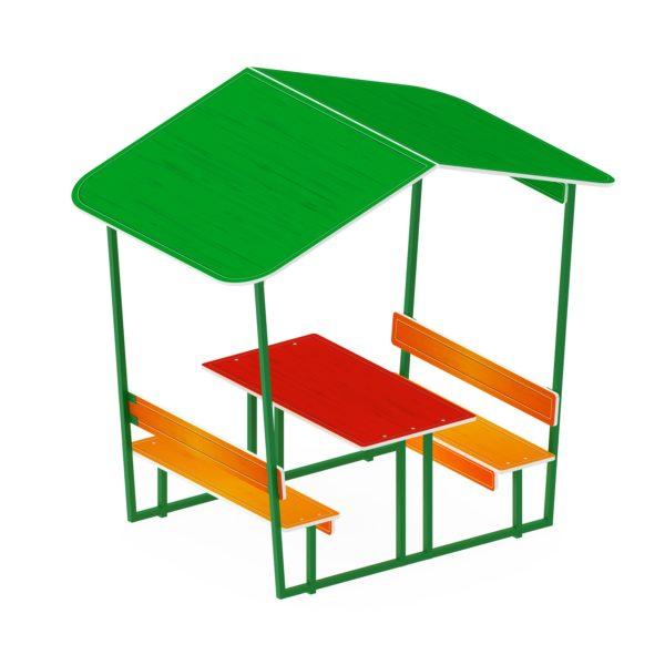 Столик детский с навесом МФ 31.01.08