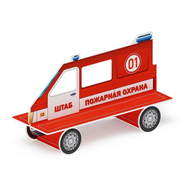 Скамейка детская Пожарная машина МФ 41.03.01-01