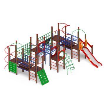 Детский игровой комплекс «Спорт» ДИК 2.06.01 купить по оптимальной цене производителя в интернет-магазине aguna.pro с доставкой по России